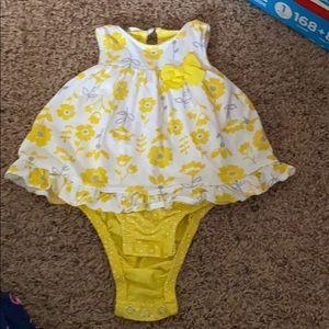 3-6 month dress